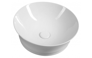 IDEA Counter Top Ceramic Washbasin dia 42 cm (without overflow hole)