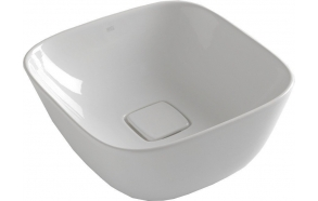 SOFT Counter Top Ceramic Washbasin 42,5x18,5x42,5 cm (without overflow hole)