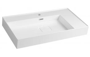 GODIVA Cultured Marble Washbasin 83x44cm, white