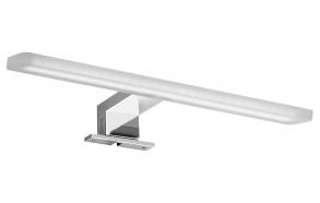 MIRAKA LED light 5W, 230V, 300x35x120mm, acryl + chrome