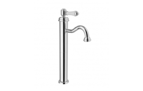 LONDON II basin mixer high without pop up waste, chrome