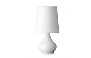 Table lamp, white