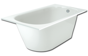 Cast stone bath VARIO LONG