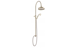 COMPLETE COLUMN SHOWER OLD BRONZE