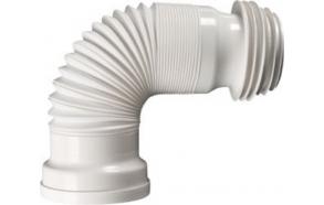 kofreeritud painduv wc kanalisatsioonitoru, 245-560 mm