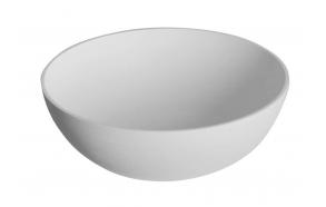 kivimassist valamu tööpinnale Thin, matt valge, diam 39 cm