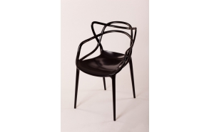 stackable chair Mucha, black