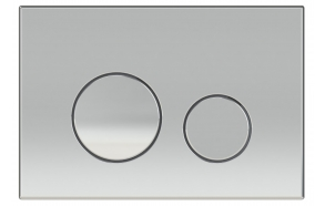 FOKA flushing plate M11 chrome