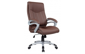 office chair, leather