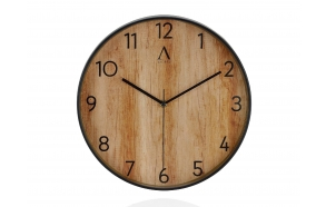 WOOD EFF. CLOCK