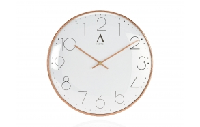 COPPER METAL WALL CLOCK