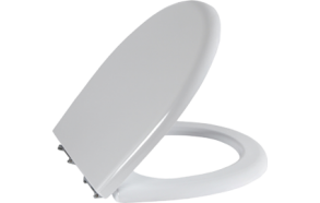 GOKCEBEY (SEDEF) SOFT CLOSE SEAT COVER WITH METAL HINGE WHITE