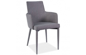 chair Norton, grey fabric