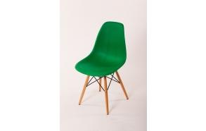 chair Alexis, green 12, beech feet