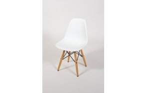 kids chair Alexis, white+beech feet