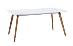 söögilaud Nordic, valge/tamm, 160x90 cm