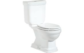 RETRO (KLASIK) WC kompakt, allajooks, valge, ilma istmeta