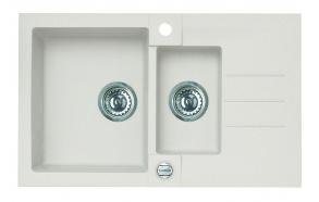 kivivalamu ROCK70-G11 78x48x18 cm, valge, automaatsifoon