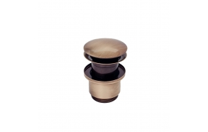 "outlet ""click-clack"",old bronze, 1 1/4´´"