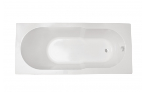akrüülvann Oceania 170x75 cm+vanni täisraam ja pikk esipaneel