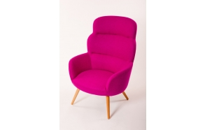 high armchair Chips, Nordic purple (HO-17)