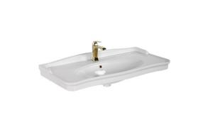washbasin Antique 100 cm, white