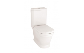 wc set Antique, universal trap, white, no seat (AN360.00100+AN410.00000+IT5130.00)