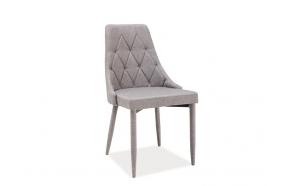 chair Queen, grey + grey feet