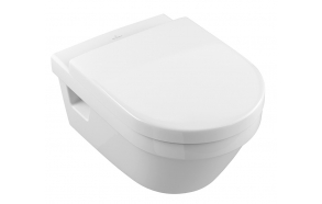 rimless wall hung wc Omnia Architectura, Villeroy&Boch, no seat