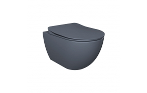 mat basalt soft close seat, for models FE320, FE321