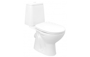 wc set Riga, dual flush, P-trap, seat not included