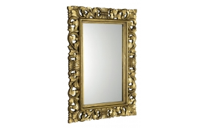 Scole mirror with frame,70x100 cm, Gold Antique