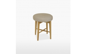Bedroom stool (seat in leather) Anais