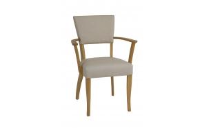 nahaga polsterdatud käetugedega tool Catherine