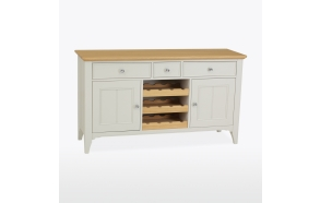 Dresser with wine rack