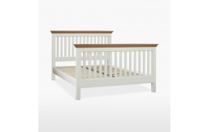 King size slat bed (160x200)