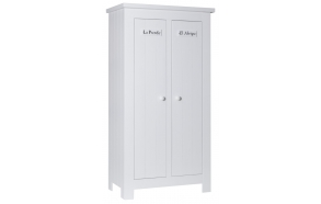 Barcelona - 2-door wardrobe, white