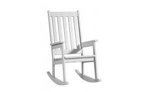 Rocking-chair, white