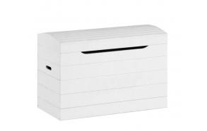 Toy box, white