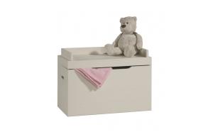 Toy box Asiento, beige