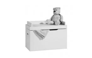 Toy box Asiento, white