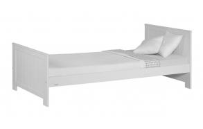 Junior bed Blanco 160x70, white, without drawer