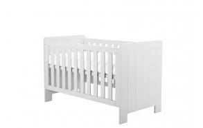 beebivoodi-voodi Calmo 140x70 cm, voodikast ei kuulu hinna sisse, valge