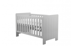 Calmo - Cot-bed 140x70, grey