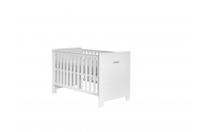 Cot-bed Blanco MDF 140x70, without drawer