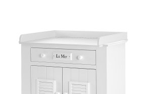 Marseilles MDF - removable changing unit