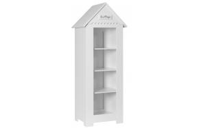 Marseilles - small bookcase, white