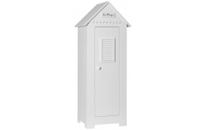 Marseilles - 1-door wardrobe, white