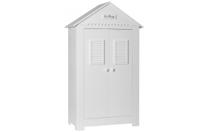 Marseilles - 2-door wardrobe, white