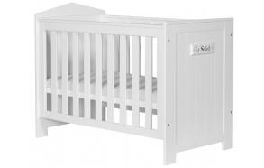 puidust beebivoodi Marseilles, 120x60, voodikast ei kuulu hinna sisse, valge
